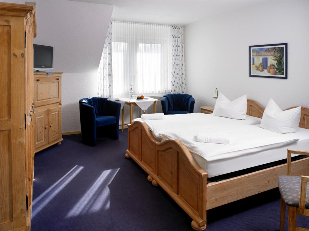 Hotel Griepshop::Doppelzimmer Komfort